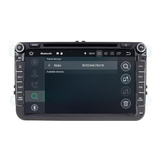 """8"""" Touchscreen Android Autoradio GPS Navigation für Seat Skoda VW Golf 5 Golf 6"""