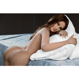 Luisa Luxus Liebespuppe TPE Silikon Sexpuppe 158cm groß