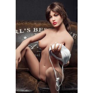 Anita Luxus Liebespuppe TPE Silikon Sexpuppe 148cm Groß
