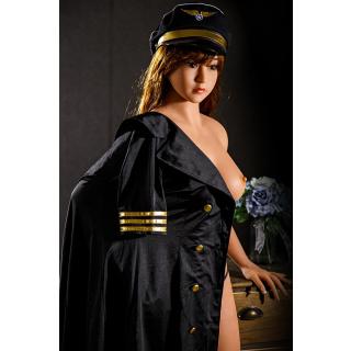 Diana Luxus Liebespuppe TPE Silikon Sexpuppe 158cm groß