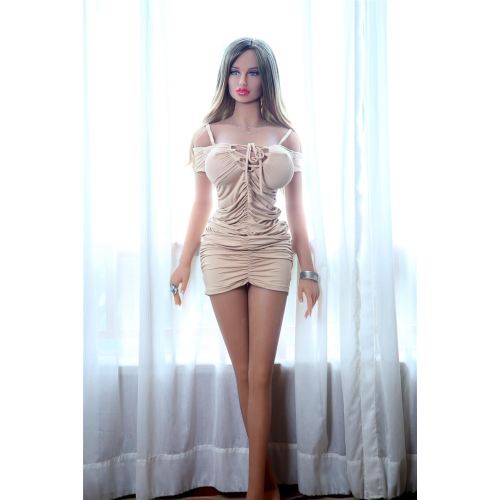 Lina Luxurious Sexdoll TPE Silicone Lifelike 158cm tall