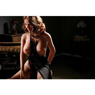 Natalia Luxus Liebespuppe TPE Silikon Sexpuppe 165cm groß