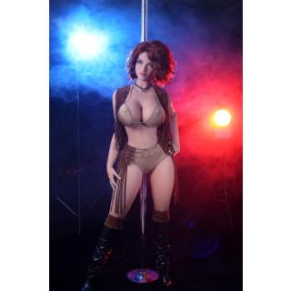 Bianca Luxus Echte Liebespuppe TPE Silikon Sexpuppe 163cm groß